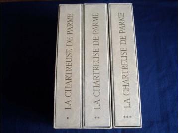 La Chartreuse de Parme en 3 volumes  - Stendhal  - Illustrations de  Lemarié Henry - Éditions Marcel Lubineau - 1970