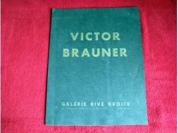 Victor Brauner - Catalogue de l'Exposition de la Galerie Rive Droite - Paris - 1958