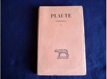 Théâtre, tome 1. Amphitruo - Asinaria - Aulularia  -  PLAUTE -  Collection Budé - Éditions des Belles Lettres