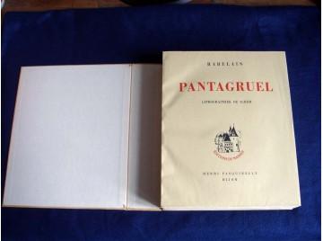 Pantagruel - RABELAIS - illustre par SCHEM - Éditions Pasquinelly - 1946