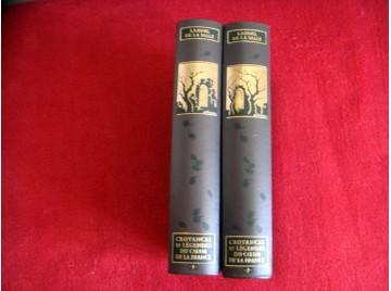 Croyances et légendes du coeur de la France ( 2 volumes ) : Souvenirs du vieux temps, coutumes et traditions populaires  - Éditi