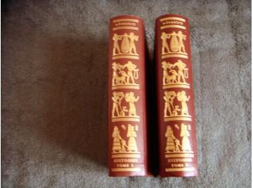 HISTOIRES - Tome 1 & 2 - HERODOTE - Éditions Jean de Bonnot