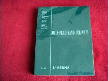 Louis Ferdinand Céline II. Cahier de l'Herne n° 5 - DE ROUX  Dominique - 1965