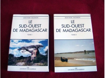 Le Sud-Ouest de Madagascar - Salomon - Éditions Presses universitaires de Bordeaux - 1995