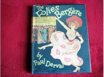 The folies bergère - Paul Derval - éditions Methuen - 1959