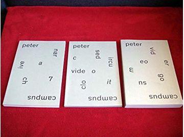 Peter Campus : 3 volumes : Video ergo sum - Closed circuit video - Anarchive 7  - Product Bundle  - Collectif  - Musée des Beaux
