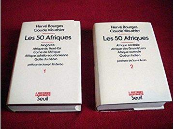 Les 50 Afriques - Collectif - Complet en 2 tomes - Éditions du Seuil - 1979