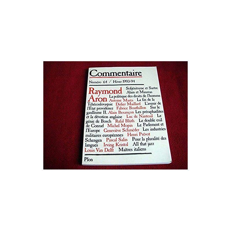 COMMENTAIRE [No 64] du 22/12/1993  - revue - Collectif