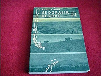 Geografia De Chile - Cunill, P - 1965 - Langues Espagnole