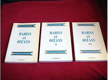 Marins et océans  - C.F.H.M - Éditions Economica - 1990