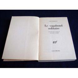 Le Vagabond Solitaire - Récits - Jack KEROUAC - Collection du Monde Entier - Éditions Gallimard - 1969