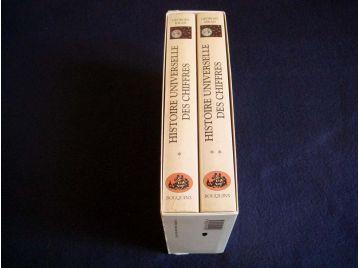 Histoire Universelle des Chiffres - Coffret - Georges IFRAH - Collection Bouquins - Éditions Robert Laffont - 1994