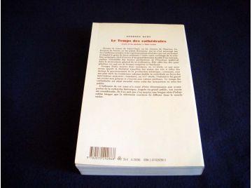 Le Temps des Cathédrales - - l'Art et la Société - 980/1420 - Georges DUBY - Éditions Gallimard - 1987