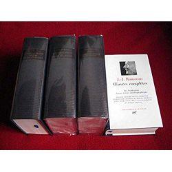 Oeuvres - Tome 1,2,3,4 - jean-jacques ROUSSEAU - Bibliothèque de la Pléiade - Gallimard -