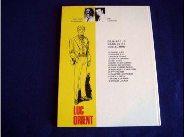 Le maître de Terango - Luc ORIENT - Eddy PAAPE - GREG - Éditions du Lombard - 1978
