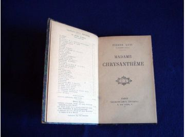 Madame Chrysanthème - Pierre LOTI - Éditions Calmann-Lévy - 1920