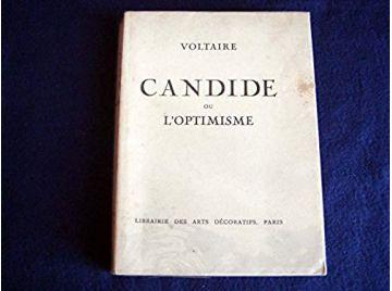 Voltaire. Candide, ou l'Optimisme. Avec les figures de Moreau-le-Jeune [Unknown Binding] Voltaire