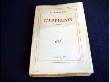 L'apprenti : Fiction [Unknown Binding] Guérin, Raymond