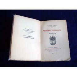 Premières impressions Après [Mass Market Paperback] Maurice Donnay