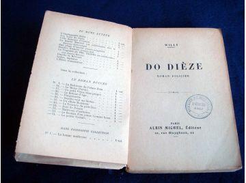Do Dièze/ Roman Policier  - WILLY - Éditions Albin Michel .