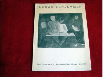 Oskar Schlemmer 1888-1943. Exposition de dessins et d'aquarelles au Centre Culturel Allemand de Paris - 1969
