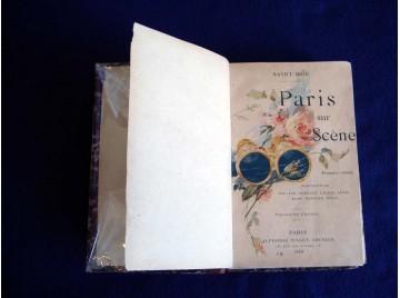 Paris sur scène. saison 1886-1887. première année. Saint-Mor Guy de .