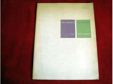 Paul Facchetti présente Les Solitudes, René Laubiès : . Juin 1964. Introduction de André Berne-Joffroy